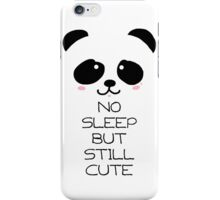 eyebags Panda iPhone Case/Skin