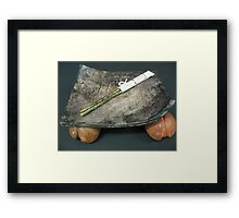 Peaches Ripe and Ready Framed Print