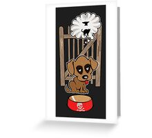 Dreaming Doggie Greeting Card
