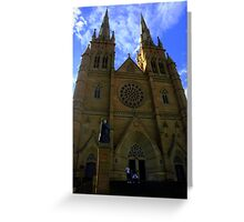 St. Mary's Cathedral, Sydney Greeting Card