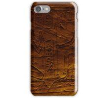 Egytian Tomb Inscriptions  iPhone Case/Skin