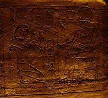 Egytian Tomb Inscriptions  by Melanie Simmonds