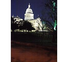Patriotic Lighting Photographic Print