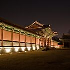 Changdeokgang Palace at Night by Jeanne Frasse