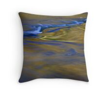 waterscapes, painting with light, time, ISO, and moving water Throw Pillow