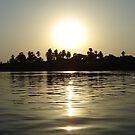 Waking sunrise on the Nile by Melanie Simmonds