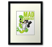 Mad Scientist T Shirt Framed Print