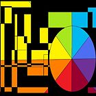 Color Wheel by Chris  Butler