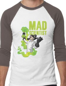 Mad Scientist T Shirt Men's Baseball ¾ T-Shirt