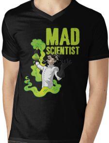 Mad Scientist T Shirt Mens V-Neck T-Shirt