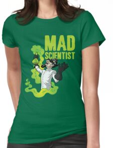 Mad Scientist T Shirt Womens Fitted T-Shirt