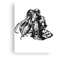 SAO - Asuna & Kirito Transparent Canvas Print