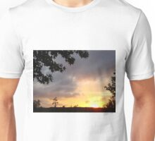 Watercolor Sunset T-Shirt