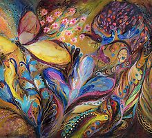 The Iris and the Butterfly by Elena Kotliarker