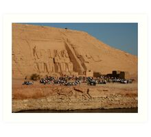 Great Temple of Ramses II at Abu Simbel Art Print