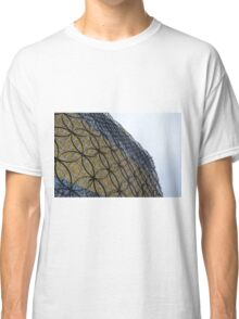 Silver And Golden Facade Of The Library Of Birmingham Classic T-Shirt
