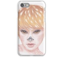 Deer Girl iPhone Case/Skin