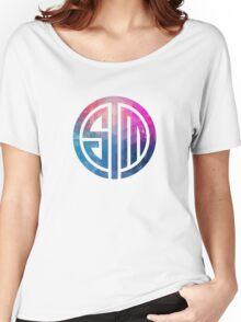TSM Geometria Eminence Distressed Women's Relaxed Fit T-Shirt