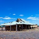 Outback history.. by Peter Doré