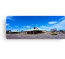 Outback history.. Canvas Print