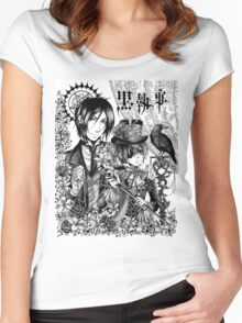 Black Butler Women's Fitted Scoop T-Shirt