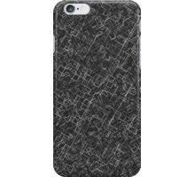Monochrome Fractal iPhone Case/Skin
