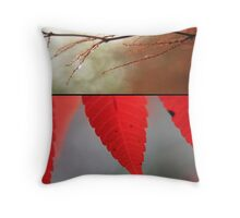 Memories in Red Throw Pillow