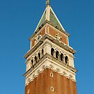 Bell-tower (Campanile), Piazza San Marco, Venice by Petr Svarc
