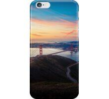 Golden Gate Bridge Sunrise iPhone Case/Skin