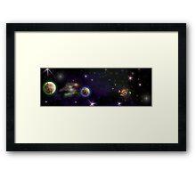 Space Ships Framed Print