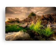 Melt Rock Canvas Print