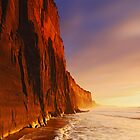 Dawn at Demon's Bluff - Anglesea by Mark Shean