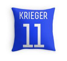 Ali Krieger #11 Throw Pillow