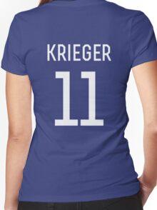 Ali Krieger #11 Women's Fitted V-Neck T-Shirt
