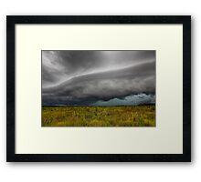 Tin Can Bay Storm Framed Print