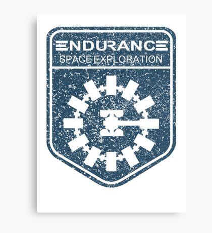 vintage Endurance stamped (dark print) Canvas Print