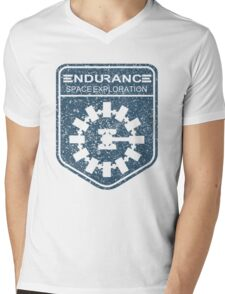 vintage Endurance stamped (dark print) Mens V-Neck T-Shirt