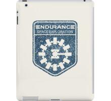 vintage Endurance stamped (dark print) iPad Case/Skin