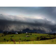 Boonah Storm Photographic Print