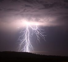 Darling Downs Lightning by Anthony Cornelius