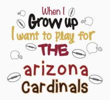 When I Grow Up... (Arizona - Football) Kids Clothes