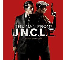 The Man From U.N.C.L.E Photographic Print
