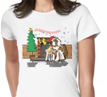 Gypsy Cob Christmas Tee 2 Womens Fitted T-Shirt