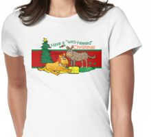 Heeler Christmas Tee Womens Fitted T-Shirt