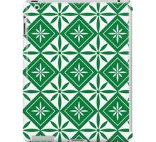Green 1950s Inspired Diamonds iPad Case/Skin