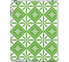Grass Green 1950s Inspired Diamonds iPad Case/Skin