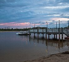 Lagoon & Pier - Twin Waters by Helen Barnett