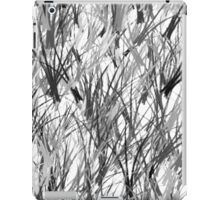 Monochrome Branches iPad Case/Skin
