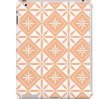 Peach 1950s Inspired Diamonds iPad Case/Skin