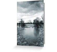 Tree and Pond Greeting Card